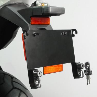 License Plate Bracket Helmet Lock for BMW®