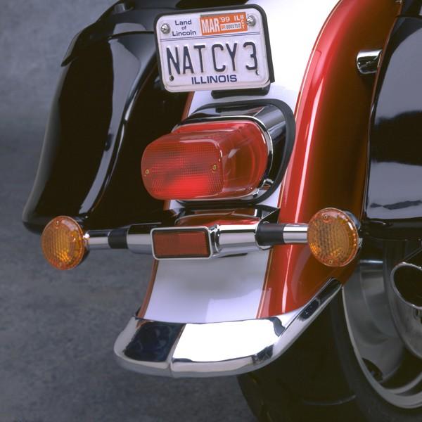 Cast Rear Fender Tip for Suzuki® VL1500LC Intruder