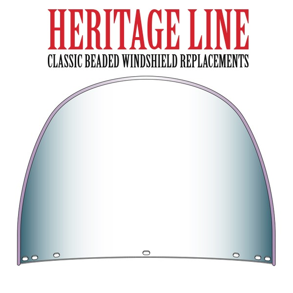 Beaded Heavy Duty™ Top, Rounded, Replacement for OEM 7-Bolt Pattern