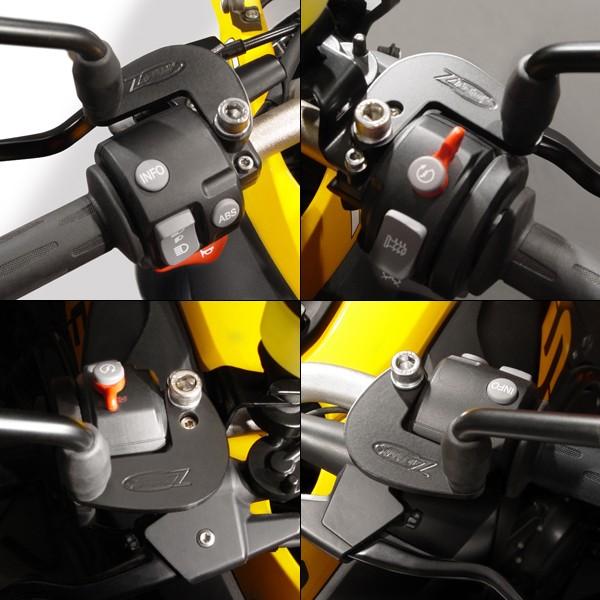 ZTechnik® Mirror Extenders for BMW® F650/700/800GS