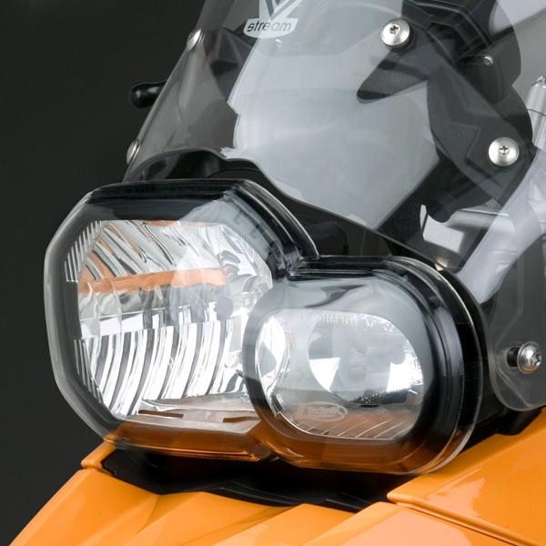 ZTechnik® Polycarbonate Headlight Guards for BMW® F650/700/800GS/Adventure/R
