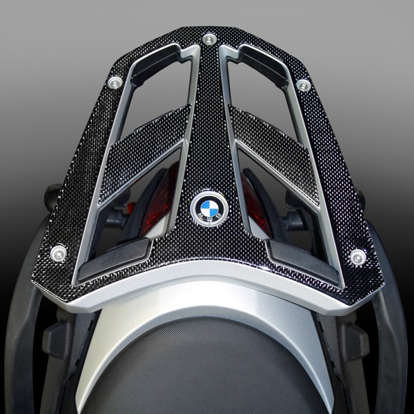 Carbon Fiber Luggage Rack Protector for BMW® R1200R
