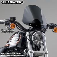 Gladiator® Height/Rake Adjustable Windshield