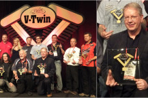 National Cycle President Barry Willey Wins 2012 Industry Leader of the Year Award at V-Twin Expo!