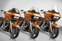 New VStream® Windscreens for the New H-D® Road Glide®