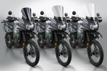 New VStream® Windscreens for the Kawasaki® KLR650