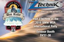 Visit ZTechnik at the 2016 BMWMOA Rally!