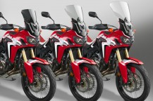New VStream® Windscreens for the Honda® Africa Twin