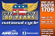 Powersports Enthusiasts: See Us at 2017 AIMExpo, Sept. 23-24!