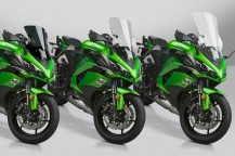 New VStream® Windscreens for 2017-18 Kawasaki® Z1000SX