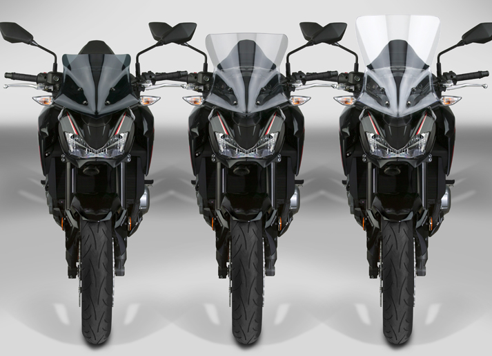 New VStream® Windscreens for the 2017-19 Kawasaki® Z900