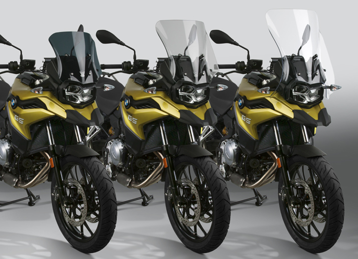 New VStream® Windscreens for the 2019 BMW® F750GS