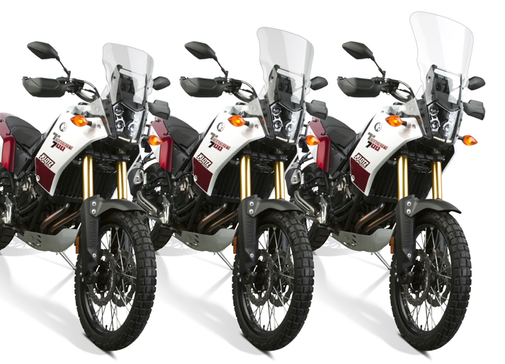 New VStream® Windscreens for 2021 Yamaha® Ténéré 700
