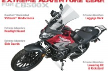 Extreme Adventure Gear™ for the Honda CB500X