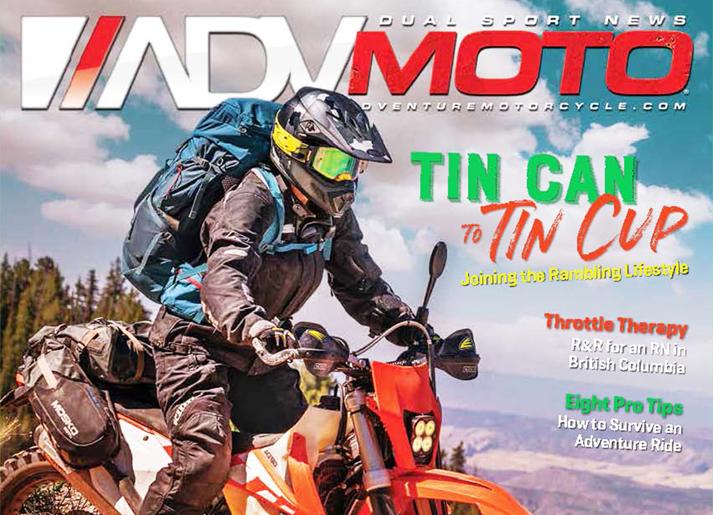 ADV Moto Magazine Review of VStream® Windscreens