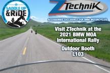 Visit ZTechnik at the 2021 BMWMOA International Rally!